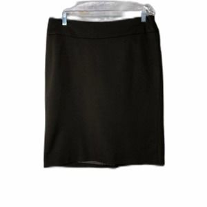 Charter Club Petite Brown Lined Skirt 14P